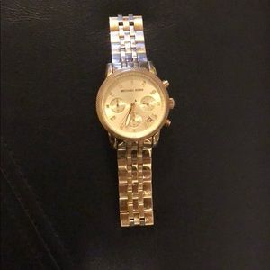 Michael Kors Gold Watch -well loved